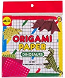 ALEX Toys Craft Dinosaur Shapes Origami Paper