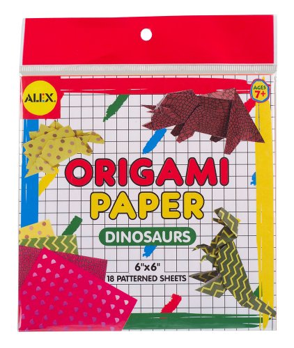 ALEX Toys Origami Paper Dinosaurs - 1