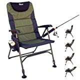 Search : Earth Products Ultimate Outdoor Adjustable Fishing Chair with Adjustable Legs