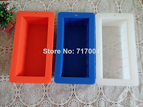 Strong Silicone Loaf Soap Mold 3Color 1000Ml front-151564