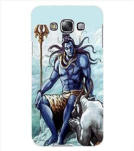 ColourCraft Lord Shiva Design Back Case Cover for SAMSUNG GALAXY GRAND 3
