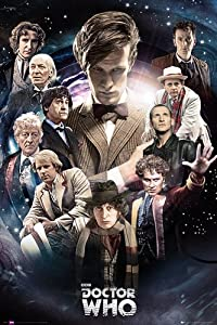 Doctor Who Poster The Doctors Collector's Poster (61cm x 91,5cm) + plus fabulous protective gift tube