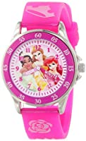 Disney Kids' PN1051 Disney Princess Pink Band Watch from Disney