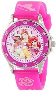 Disney Kids' PN1051 Disney Princess Pink Band Watch