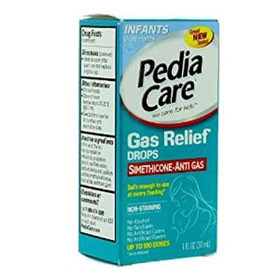 Pediacare Infants Dye-Free & Non-Staining Gas Relief Drops - 1 Ounce