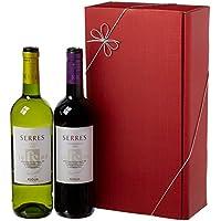 Le Bon Vin Carlos Serres Rioja Twin Wine Gift Set 2011 75 cl (Case of 2)