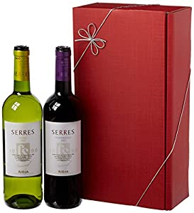 Le Bon Vin Carlos Serres Rioja Twin Wine Gift Set 75 cl (Case of 2)