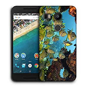 Snoogg Group Of Fish Printed Protective Phone Back Case Cover For LG Google Nexus 5X