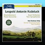 Kozeluch: Klavierkonzert & Zwei Sinfonien