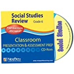 NewPath Learning Social Studies Interactive Whiteboard CD-ROM, Site License, Grade 6