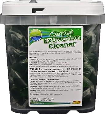 Aqua ChemPacs AQ404 Carpet Extractor Cleaner, 1.28-Ounce Packet (100 Count)