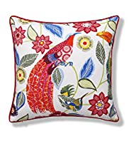 Paradise Bird Print Cushion
