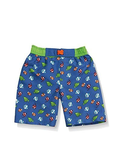 Playshoes Short de Baño Azul