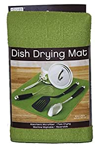 dish drying mat care instructions