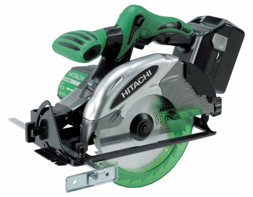 Hitachi C18DSL/JL 18V Cordless Circular Saw  - 2 x 3 Ah Lithium-Ion Slide Battery