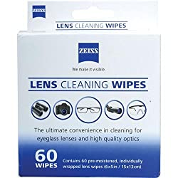 Zeiss Lens Wipes 60 Pack