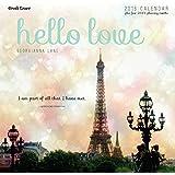 2016 Hello Love Wall Calendar