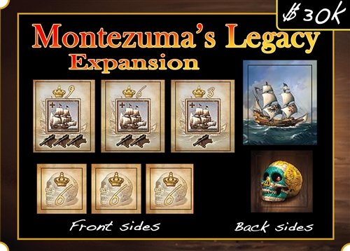 Francis Drake: Montezuma's Legacy Expansion (Francis Drake Board Game compare prices)