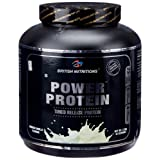 British Nutritions - Fitness Range Power Protei -  2.5 Kg (French Vanilla)