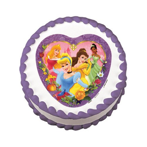 Disney Cake Decorations Princess : Disney Princess Cake Decorations Birthday Girls Wikii