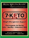 7-KETO® DHEA métabolite Gestion du poids Powder - pur à 100%, pas de charges 12 oz