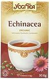 Yogi Tea Echinacea 17 Teabags (Pack of 6, Total 102 Teabags)