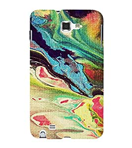 PrintVisa Painting Pattern 3D Hard Polycarbonate Designer Back Case Cover for Samsung Galaxy Note 1