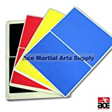 Ace Martial Arts Rebreakable Board Set - Yellow Blue Red & Black