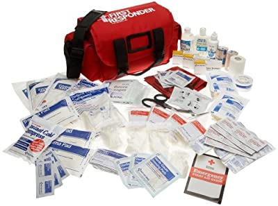 Tactical First Aid Kit: First Aid Only First Responder Emergency First Aid Kit, 159-Piece Bags by First Aid Only