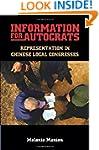 Information for Autocrats: Representa...