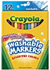 Crayola 12ct Fine Washable Markers
