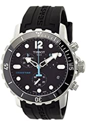 Tissot Men's T0664171705700 Seastar Stainless Steel Sport Watch