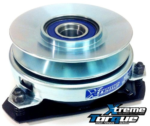 Replaces John Deere Electric Pto Clutch Am123123 W/Upgraded Bearings, High Torque, And Billet Pulley