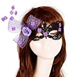 TY European Fashion Mask For Women Halloween Party Girl Mask