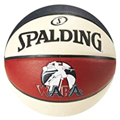Spalding WABA Official Game Basketball - Composite - Sz 6 by Spalding