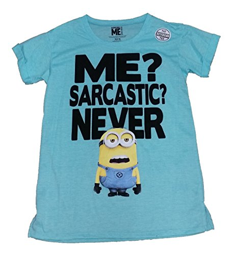 Minions Me? Sarcastic? Never Licensed Graphic T-Shirt