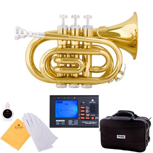 mendini-mpt-l-lacquer-brass-bb-pocket-trumpet-gold