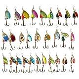 Free Fisher 30 Spinner im Set für Forelle Barsch Hecht