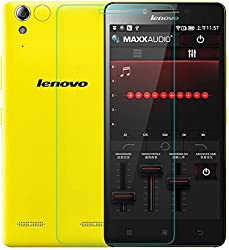 Red Qube Curved Tempered Glass For Lenovo K3 Note