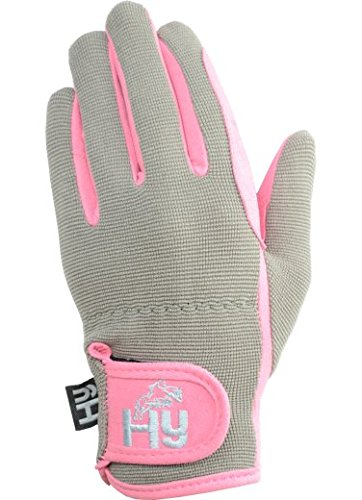 hy5-childrens-everyday-two-tone-riding-gloves-pink-grey-medium