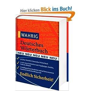 eBook Cover für  Wahrig Deutsches W xF6 rterbuch Das universelle Standardwerk zur deutschen Gegenwartssprache Mit mehr als 260 000 Stchw xF6 rtern Anwendungsbeispielem und Grammatik Aussprache Stil und Herkunft