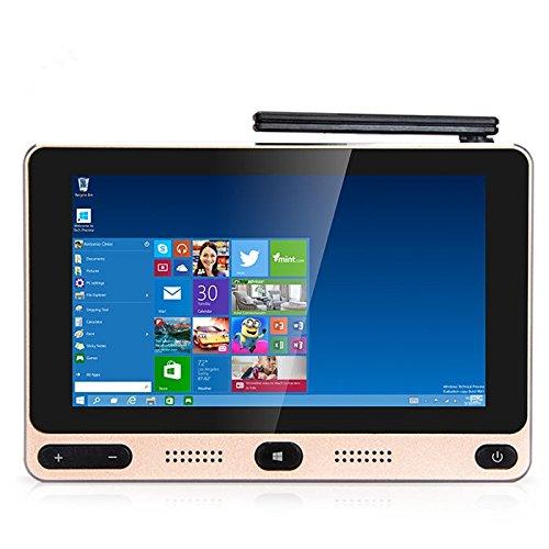GOLE GOLE1 Super Mini PC 5 Pollici Schermo Tattile TV Box 1280 x 720 Pixels con Intel Cherry Trail Z8300 Quad-core fino a 1.84GHz Windows 10/Android 5.1 BT 4.0 4GB RAM + 32GB ROM
