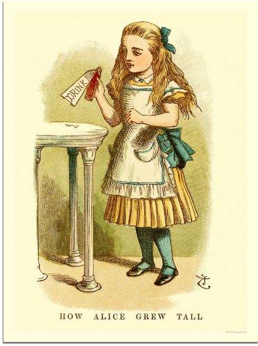 Alice In Wonderland, Drink Me (30x40cm Art Print)