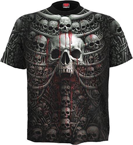 Spiral -  T-shirt - Stampa  - Uomo Black X-Large