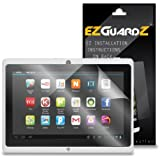 """(3-Pack) EZGuardZ Tablet Screen Protector for Tagital 7"""" (Ultra Clear)"""