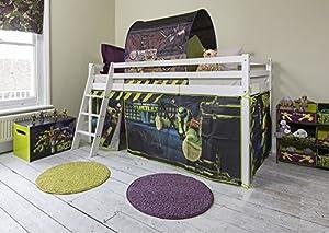TMNT Tent for Midsleeper Cabin Bed , Teenage Mutant Ninja Turtles Tent