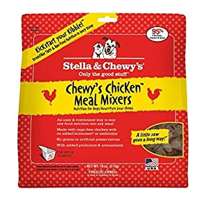 Stella & Chewy's Meal Mixers Freeze Dried Chicken 18 Oz