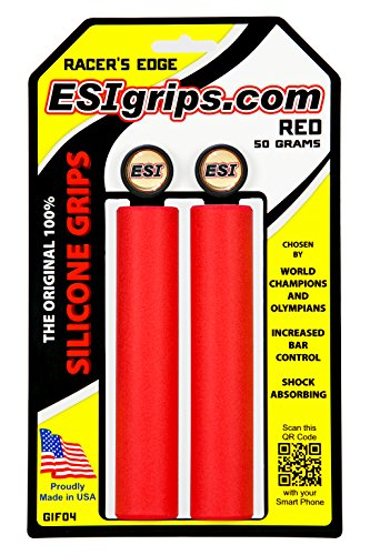 Esi - Manopole Racer'S Edge colore Rosso