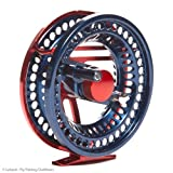 Loop Opti Runner Fly Fishing Reel, LHW, 7 Weight, Red