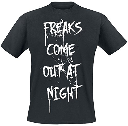 Freaks Come Out At Night T-Shirt nero S